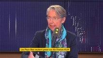 Air France-KLM : Elisabeth Borne exclut une augmentation de la participation française