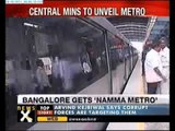 Bangalore metro service set to roll out today