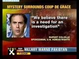 Mystery over Gaddafi, Son's death