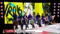 Le monde de Macron : Tags antisémites, un individu interpellé à Versailles - 01/03