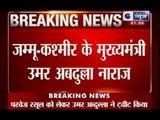 India News: Omar Abdullah upset for not fielding Parvez Rasool in final match