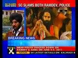 SC slams Ramdev, Delhi Police over Ramlila crackdown- NewsX