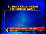 Sri Lankan Navy attacks Indian fishermen -NewsX