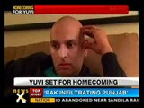 Yuvraj will be back in India on April 9 - NewsX