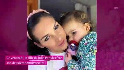 Julia Paredes maman : sa fille Luna fête ses deux ans !