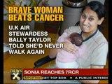 Good News: British women beats cancer, learns to walk again  - NewsX