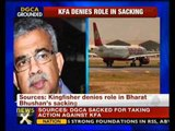 DGCA sacked for taking on Kingfisher Airlines: Sources - NewsX