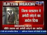 Smriti Irani forces Priyanka's secretary out of Amethi