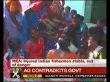 Fishermen killing: Injured Indian fisherman stable, claims MEA - NewsX