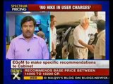 EGoM recommends lower price for spectrum auction - NewsX