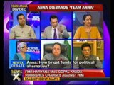 NewsX@9: Anna disbands Team Anna, sets sights on 2014 polls