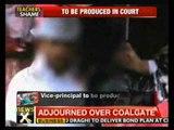 Kolkata: Vice-principal beats up students, arrested - NewsX