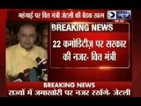 22 commodities under government observation:  Arun Jaitley
