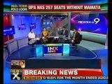 NewsX@9: Mamata turns UPA into minority govt - NewsX