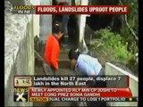 Landslides, heavy rains create havoc in Northeast - NewsX
