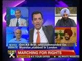 NewsX@9: Lt Gen Brar slams Punjab's Akali government - NewsX