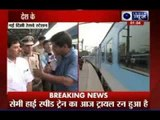 Now reach Delhi to Agra in 90 mins! India 1st semi-high speed train flagged off for trial run