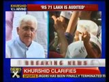 Will resign if charges proved true: Khurshid - NewsX