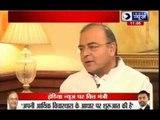 India News Exclusive interview with Arun Jaitely
