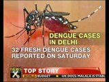 Dengue cases on rise in Delhi - NewsX