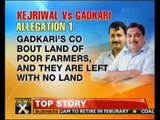 Gadkari refutes allegations by Kejriwal, cites court documents - NewsX