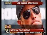 UCI bans Lance Armstrong for life - NewsX