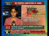 AIIMS becomes dengue den; doctors among 685 patients - NewsX