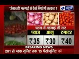 Tomato prices double in four days at Rs 100 per kg