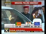 Himachal Pradesh assembly polls see moderate turnout - NewsX