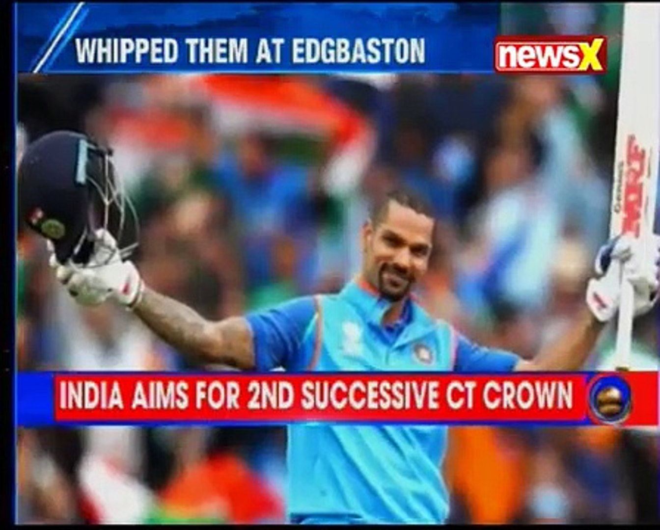 NewsX-Express News simulcast — Mega build-up to India-Pak Champions Trophy final