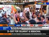 Gujarat polls: People celebrate as BJP inches towards victory - NewsX