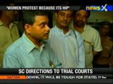 Prez's son calls protesting women 'dented and painted' - NewsX