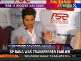 Nautanki Saala: Ayushmann does a Shahrukh Khan