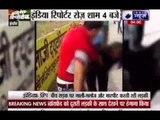 Girlfriend beats her cheater boyfriend in Indore