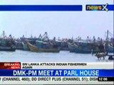 Sri Lankan navy attacks Indian fishermen again
