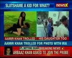 Bollywood star Aamir Khan trolled for posting picture with daughter Ira Khan