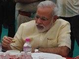 PM Narendra Modi takes lunch in Parliament canteen