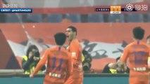 Le premier but de Marouane Fellaini en Chine
