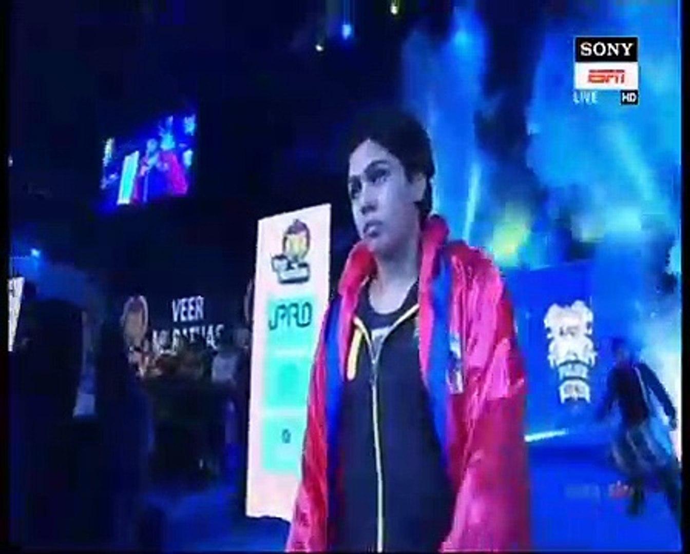 PWL 3 Day 6_ Pooja Dhandha Vs Marwa Amri at Pro Wrestling league season 3_Full match