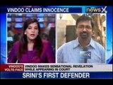 IPL Spot Fixing : Vindoo Dara Singh produced in Mumbai Court
