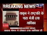 Yakub Memon sends fresh mercy plea to President Pranab Mukherjee day before hanging