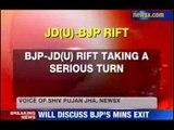 Nitish to seek BJP ministers withdrawal