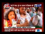 Congress party protests against central govt over onion price rise