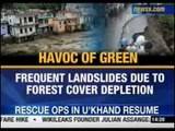 NewsX: 'Unplanned development reason of floods'