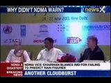 Uttarakhand floods: War strikes in between NDMA, Met