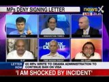NewsX Debate: Should netas raise India's internal matters with US?