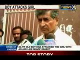 NewsX: JNU girl student attacked in campus with axe, attacker dies