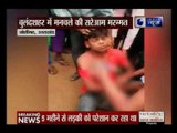 Girl beats a boy for teasing in Bulandshahr, Uttar Pradesh