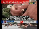 NewsX Exclusive: LeT terrorist arrested from Kashmir's Sopore