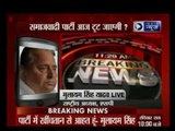 "SP supremo Mulayam Singh Yadav said ""he is really sad with the ongoing fight in his party"""